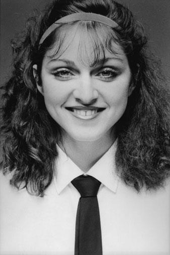 Madonna in 1978.