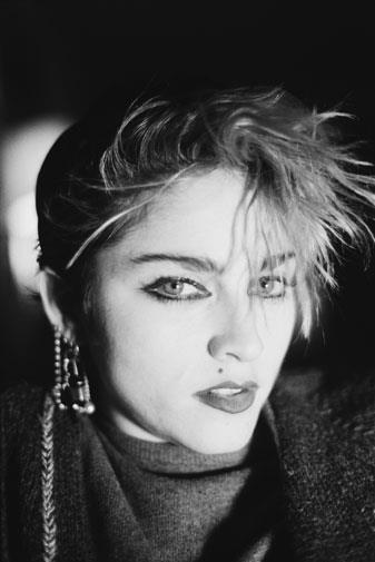 Madonna was just starting to become a star in December 1982.