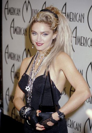 A superstar in the making - at the AMAs in January 1985.