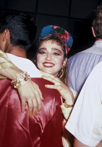 A baby-faced Madonna in June 1985.