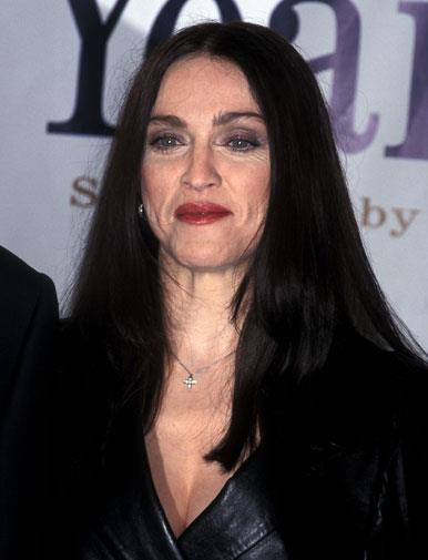 Chanelling Cher in October 1998.