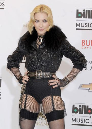Madonna at the 2013 Billboard Music Awards.