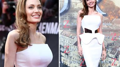 Angelina Jolie's post-mastectomy figure