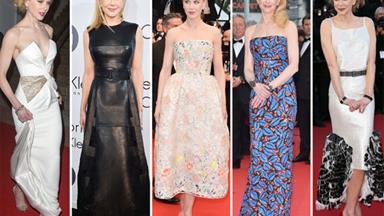 Nicole Kidman best-dressed in Cannes