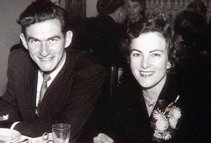 A young Hazel and former husband Bob Hawke.