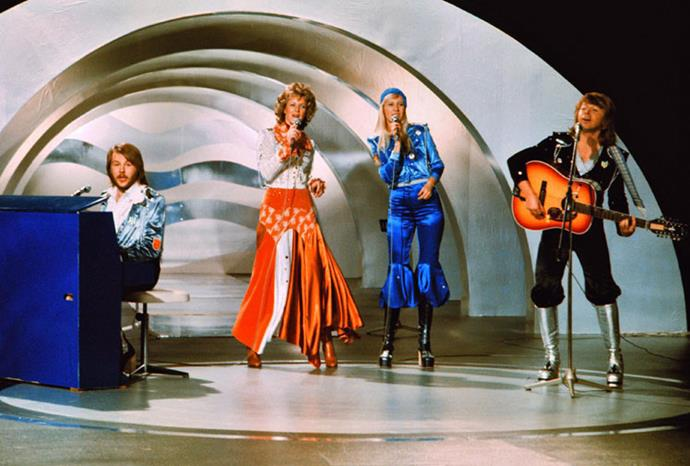 Swedish group ABBA's 1974 win was the start of something big.