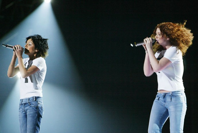 Russian duo t.A.T.u rose to fame after their Eurovision performance in 2003.