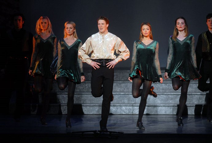 Riverdance made an appearance as an interval act in 1994.