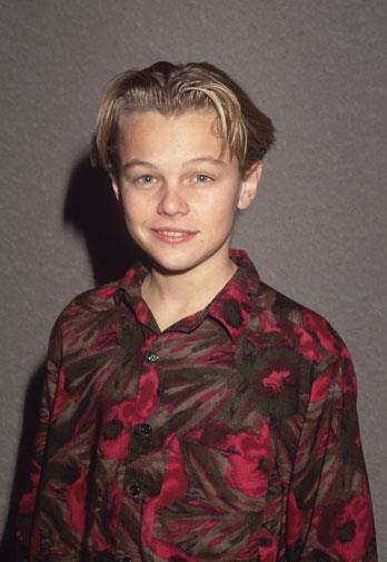 Leo in 1989 before his big break.