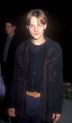 At the premiere of What's Eating Gilbert Grape in 1993.