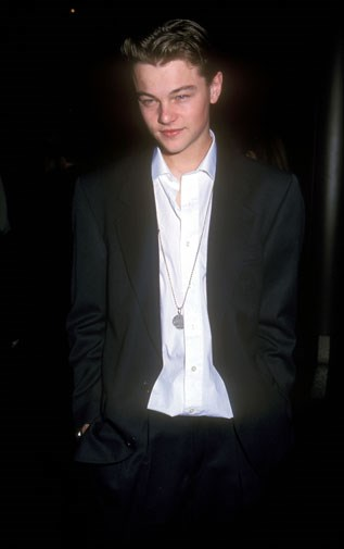 At the premiere of This Boys Life in 1993.