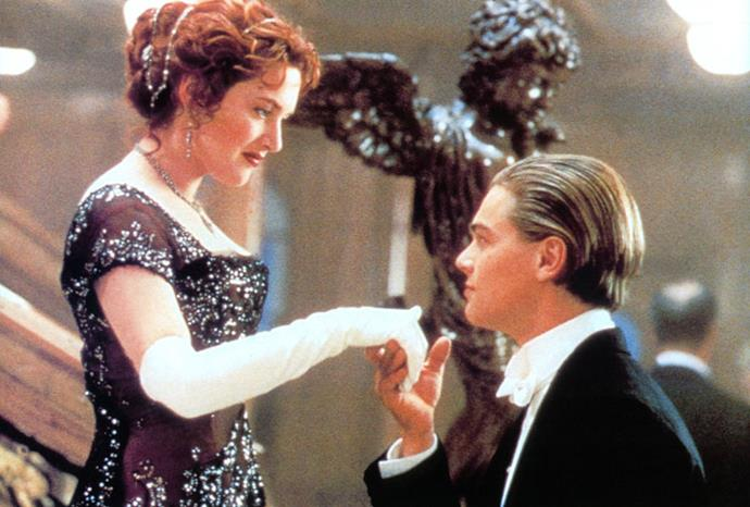 At still from *Titanic* in 1997.