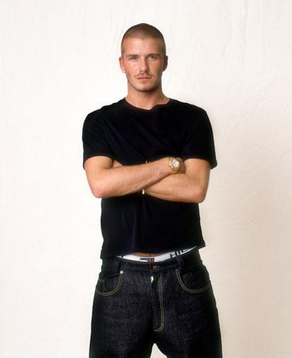Beckham in 2000.