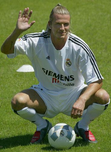 After signing with Real Madrid in 2003.