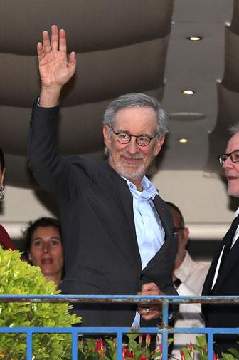 Steven Spielberg is the head of the jury.