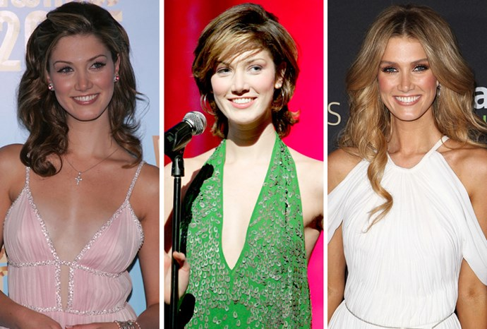 Delta Goodrem over the years.