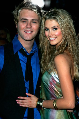 Delta and Brian at the 2007 Nickolodeon Kids' Choice Awards.