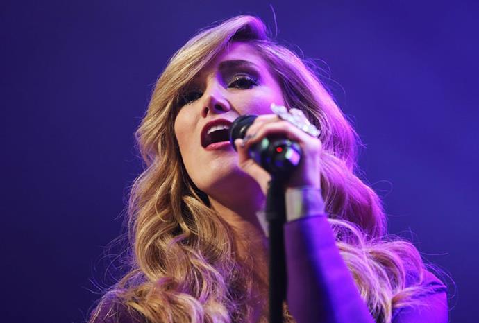 Delta in concert in Melbourne in November 2012.