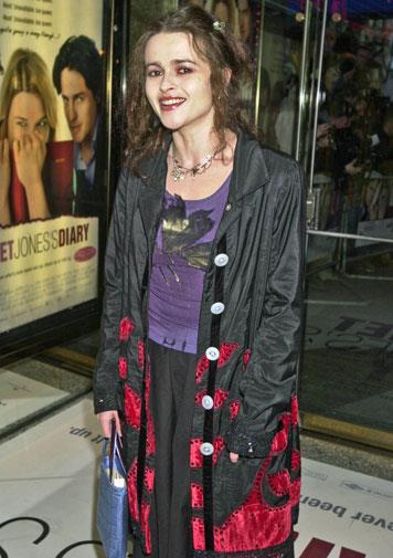 Getting her grunge on at the 2001 Bridget Jones's Diary premiere.