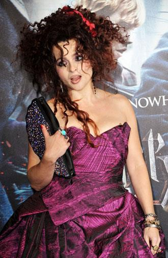 Big hair at Harry Potter and the Deathly Hallows premiere 2010.