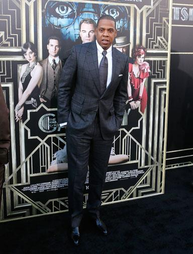 Singer and producer Jay-Z.