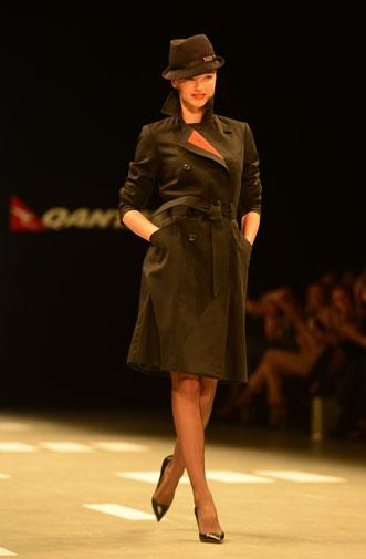 The Qantas uniform has been redesigned nine times since 1959.