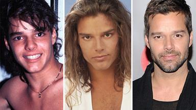 He bangs! Ricky Martin's makeover