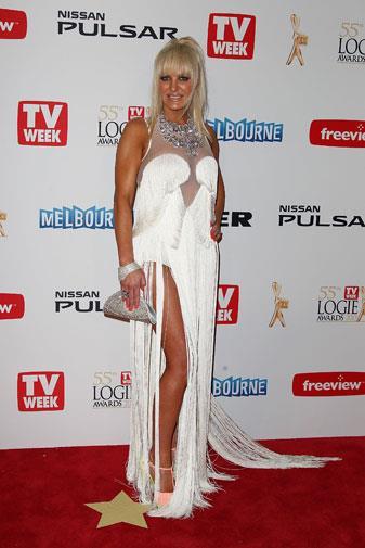Brynne at the Logie Awards on Sunday.