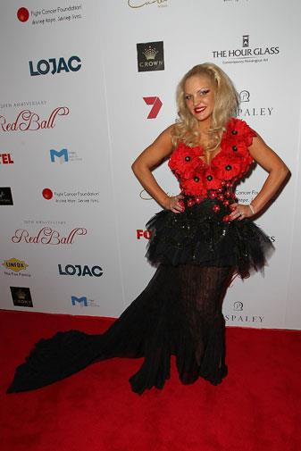 Brynne at a charity gala in October 2012.