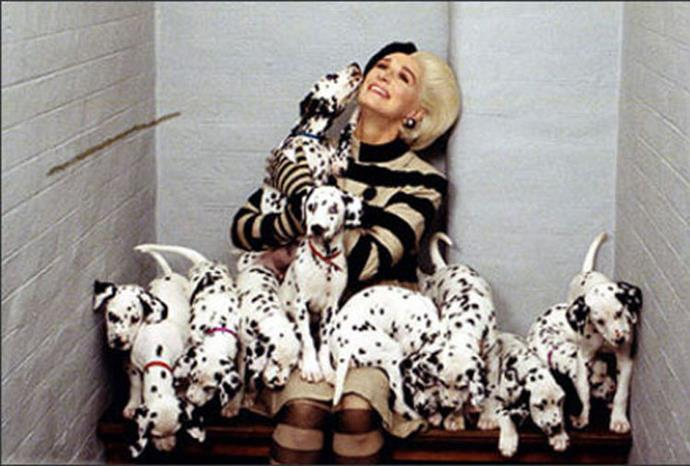 The pups from *101 Dalmatians*.