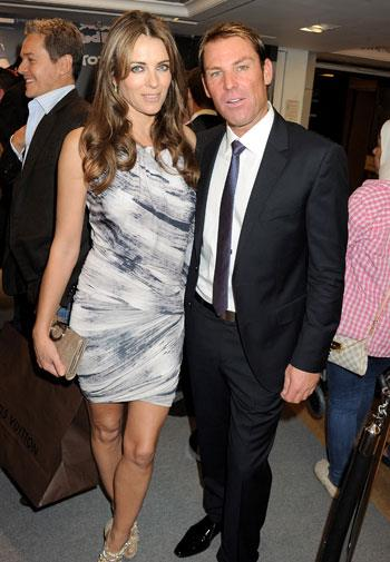 The couple in London in 2012.