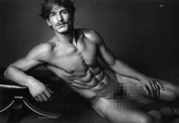 Jarrod Scott Naked French Vogue Cover - Jarrod Scott Pubic