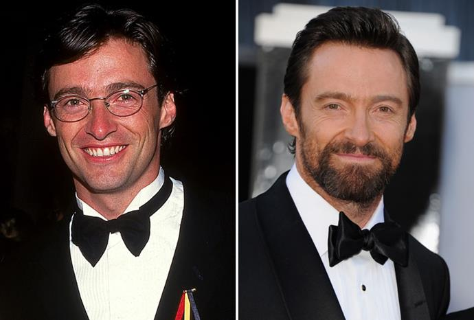 Hugh Jackman in 1997 and 2013.