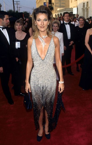 Too many sequins weren't enough for Celine Dion in 1997.