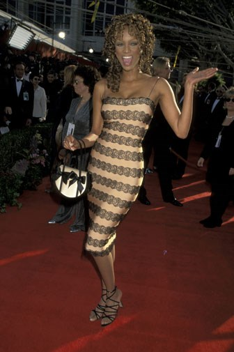 Tyra Banks in 1996.