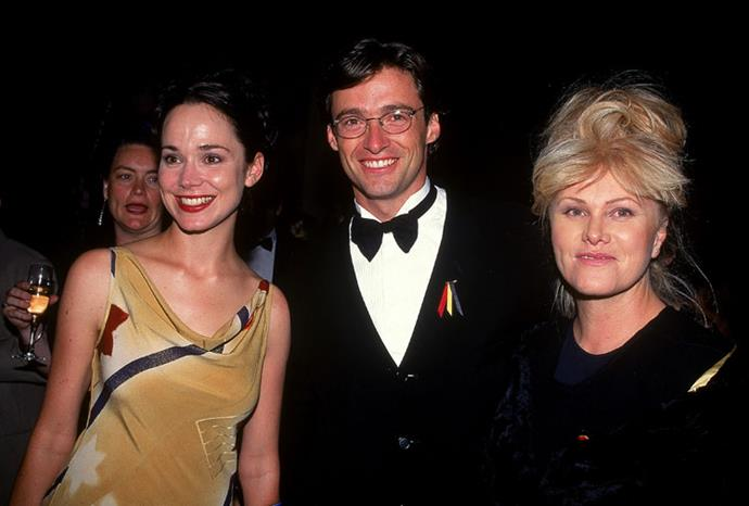 Hugh and wife Deborra-Lee at the AFI Awards in 1997.