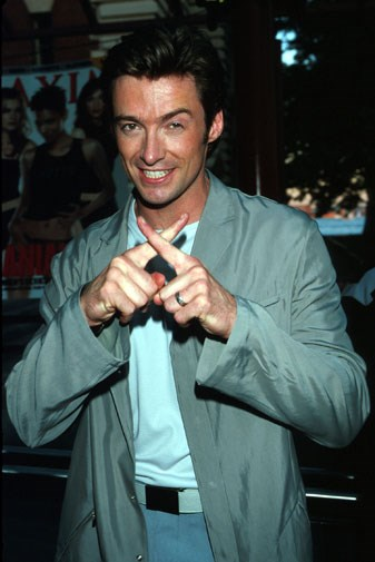 Hugh at the premiere of *X-Men* in 2000.