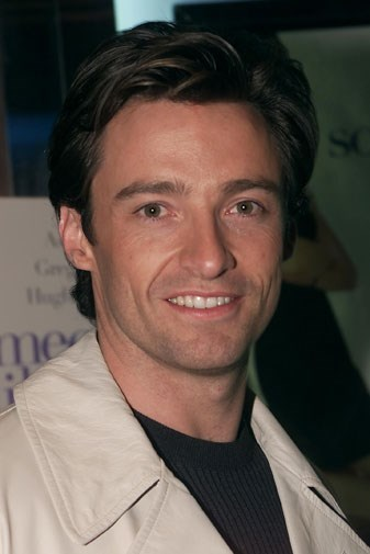 Hugh looking youthful in 2001.