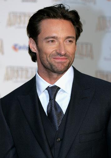 Hugh at the world premiere of *Australia* in 2008.