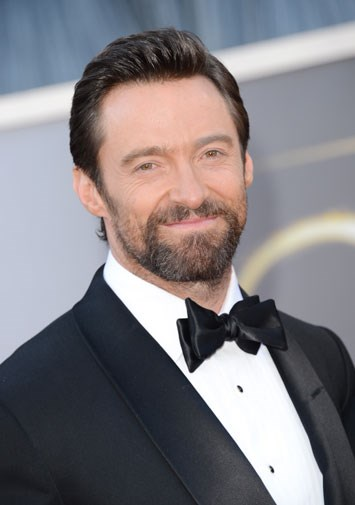 Hugh at the 2013 Oscars.