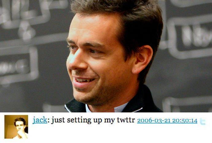 Twitter founder Jack Dorsey sent the very first tweet in 2006.