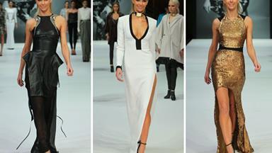 Jennifer Hawkins dazzles in Myer fashion show
