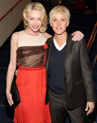 *The Weekly's* March covergirl Ellen DeGeneres and her wife Portia de Rossi.