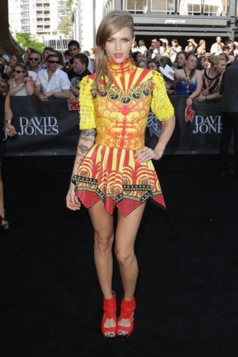 Australian model and presenter Ruby Rose.