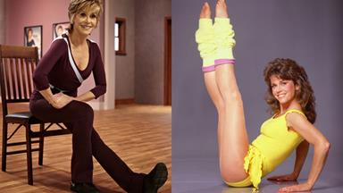 Fitness Fonda style: Jane's new DVD at 75