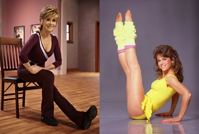 Fitness Fonda style: Jane's new DVD at 75