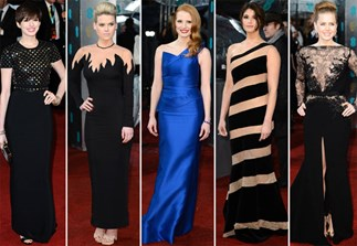 Best-dressed at the 2013 BAFTA Awards