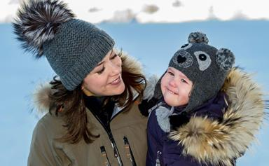 Swiss miss: Princess Mary and kids hit the snow