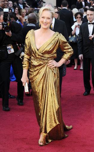 Meryl Streep in Lanvin in 2012.