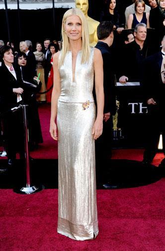 Gwyneth Paltrow in Calvin Klein in 2011.